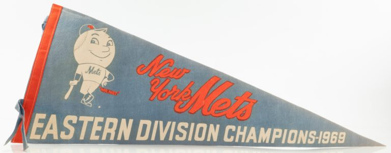 Mets 1969 NL East Champions Pennant