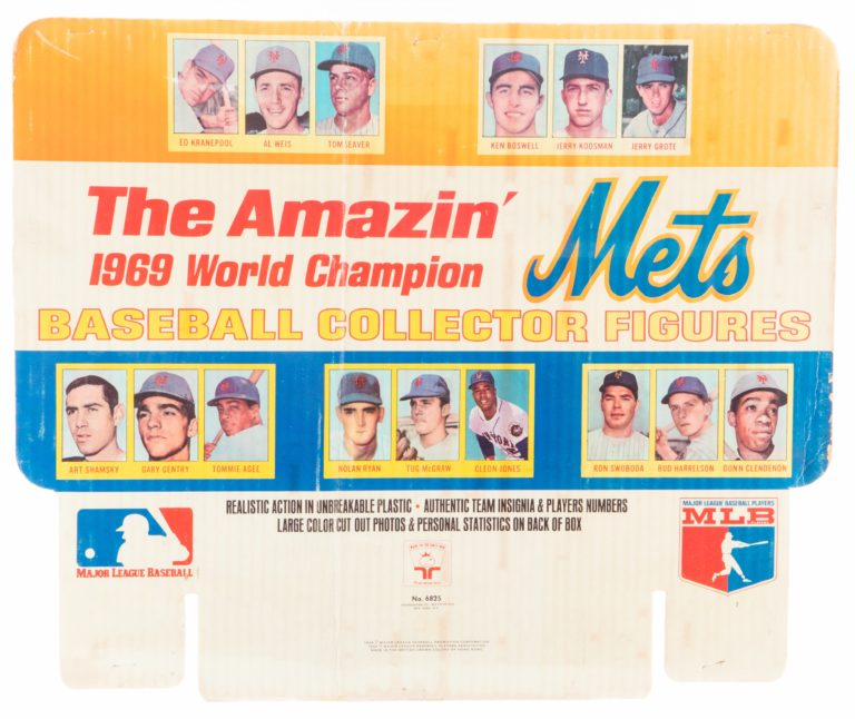 The Amazin' Mets Transogram Toys