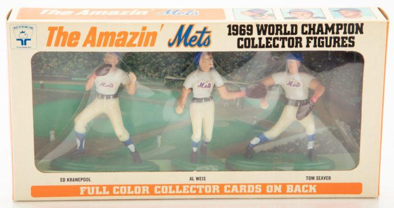 Kranepool, Weis & Seaver World Series Collector Figures