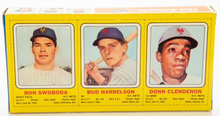 Swoboda, Harrelson and Clendenon Action Figures