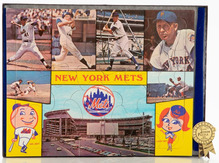 1969 New York Mets Jigsaw Puzzle