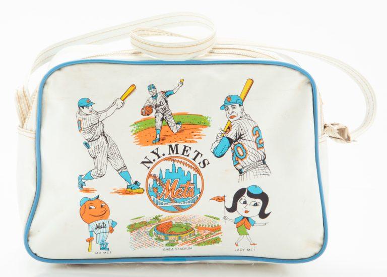 Mets-Themed Weekender Bag