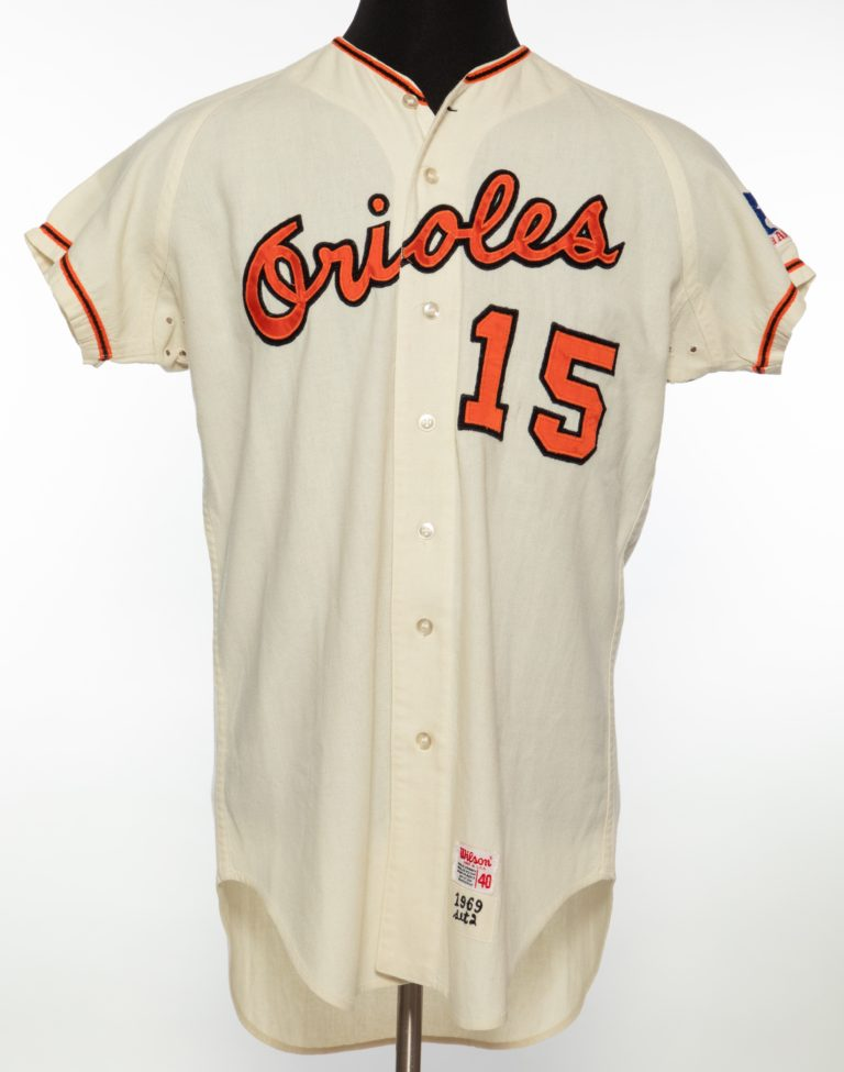 Davey Johnson Baltimore Orioles Jersey