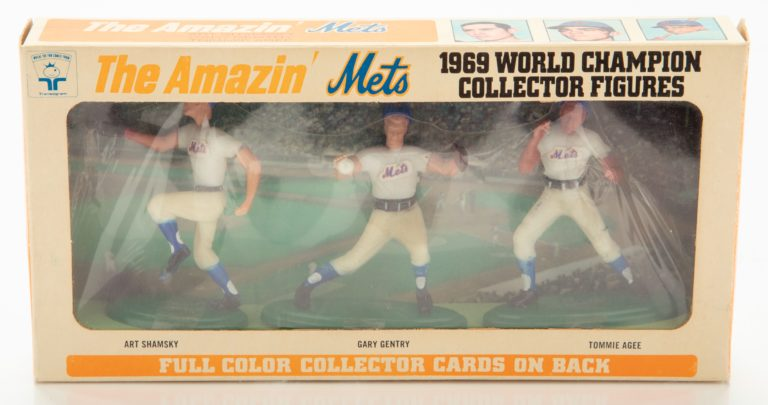 Shamsky, Gentry & Agee World Series Collector Figures