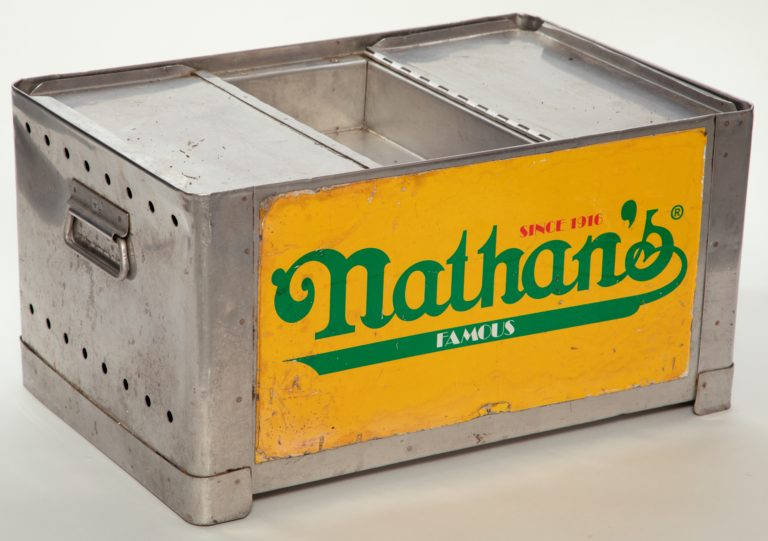 Nathan's Hot Dog Carrier from Shea Stadium