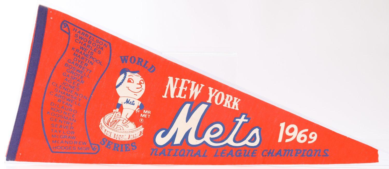 1969 Mets NL Champions Pennant