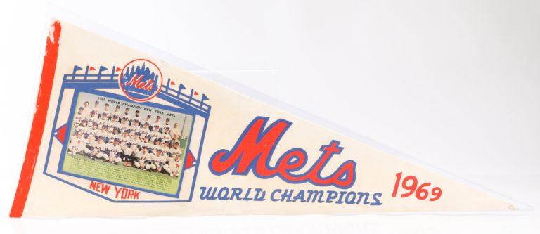 1969 Mets World Champions Pennant