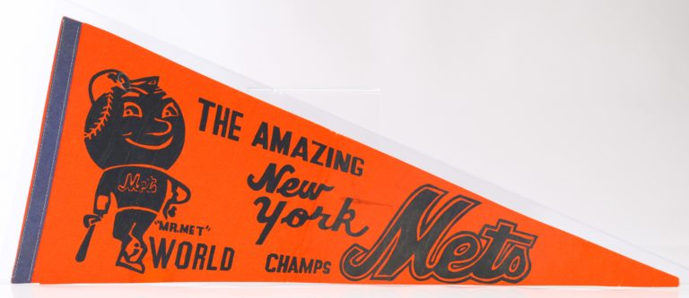 The Amazing New York Mets Pennant