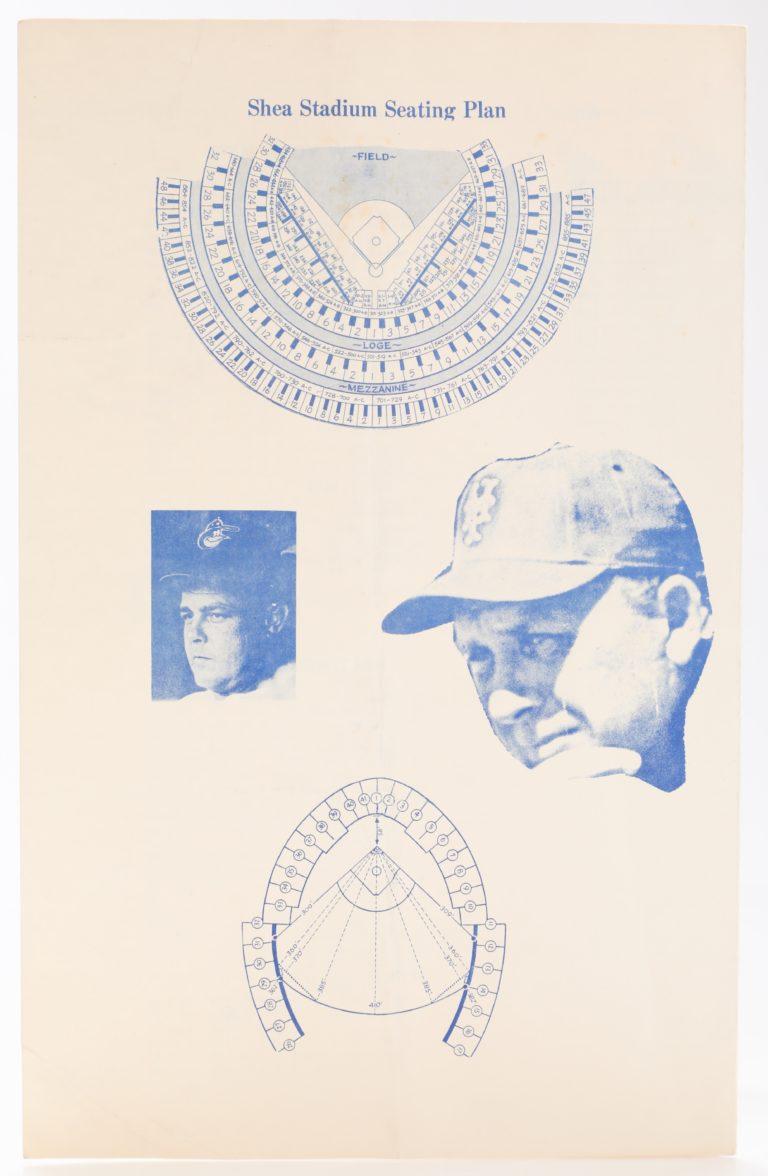 1969 World Series Program with Tom Seaver