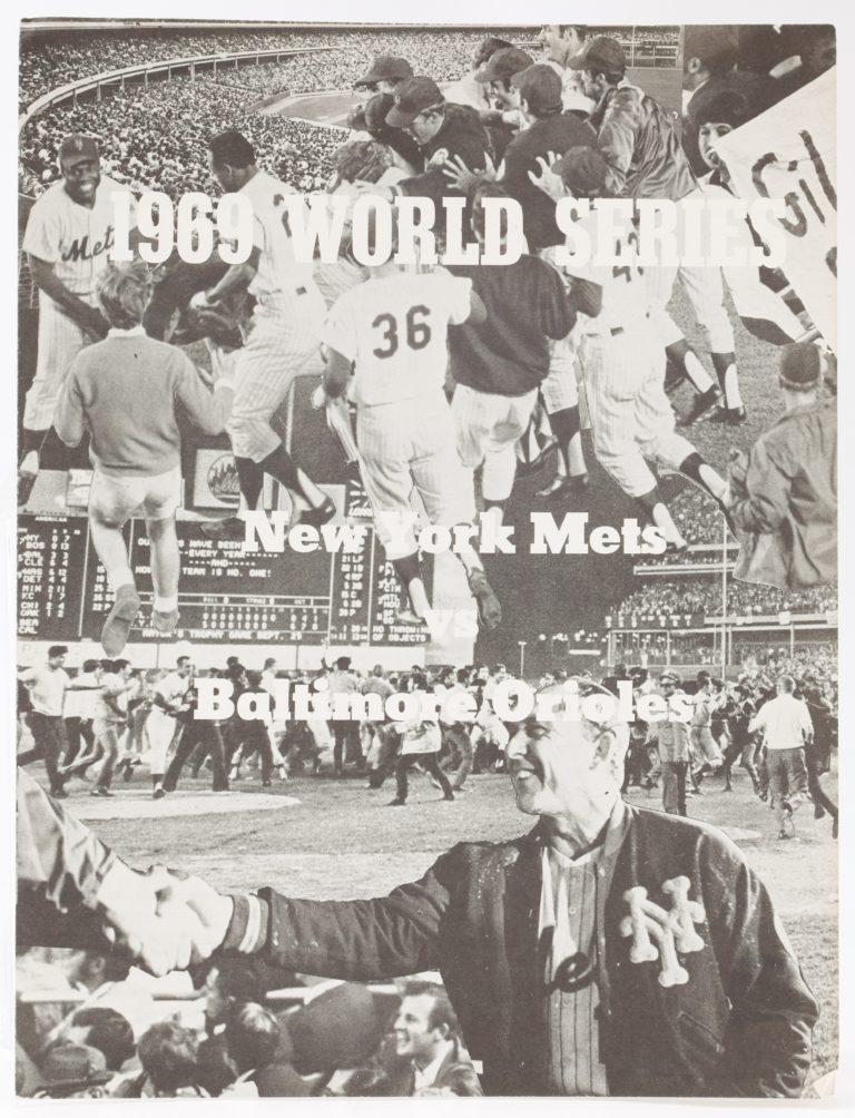 1969 World Series Game 5 Scorecard