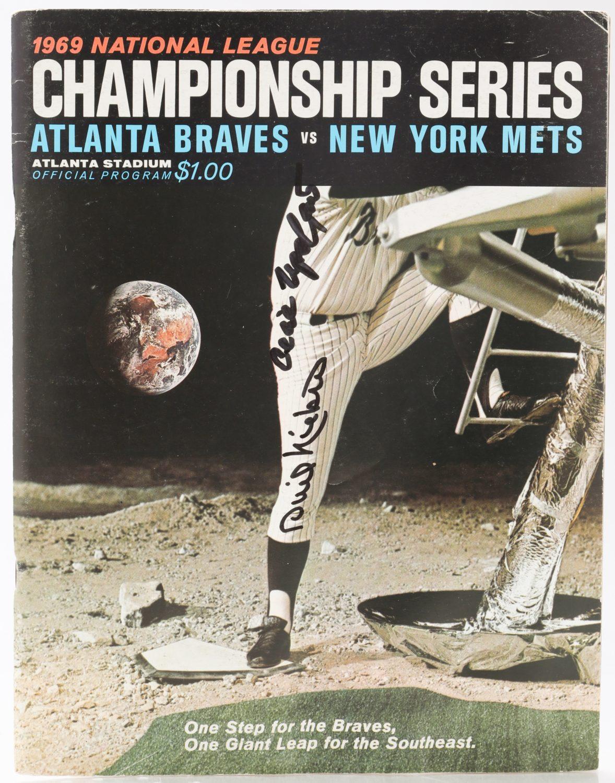 1969 NLCS Official Program from Atlanta Stadium
