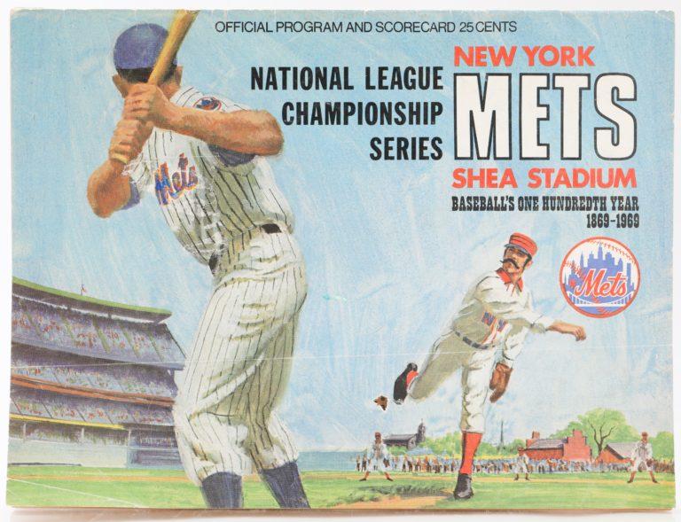 1969 New York Mets NLCS Official Program