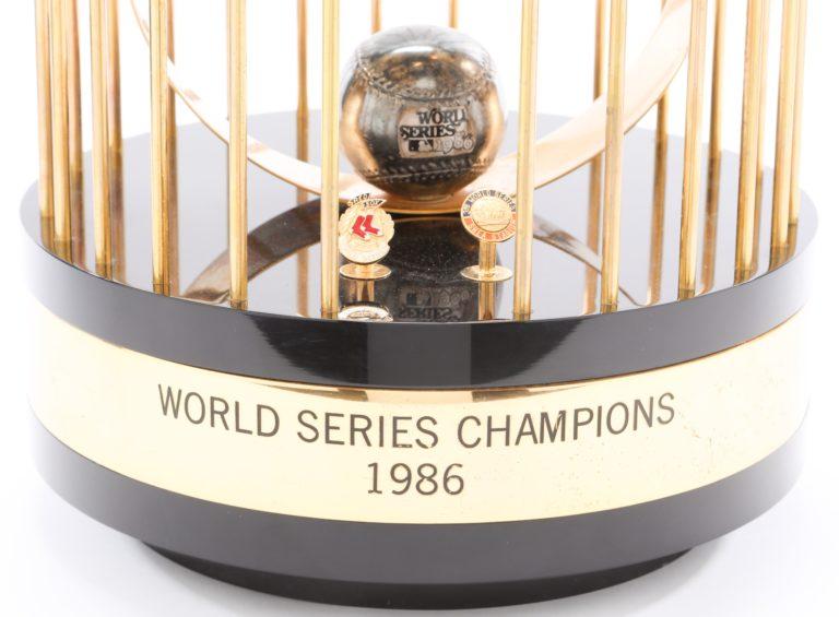 Mets 1986 World Series Trophy