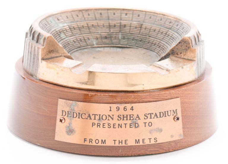 Shea Stadium Ashtray from Dedication