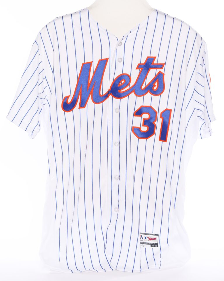 Mike Piazza Autographed Retirement Jersey