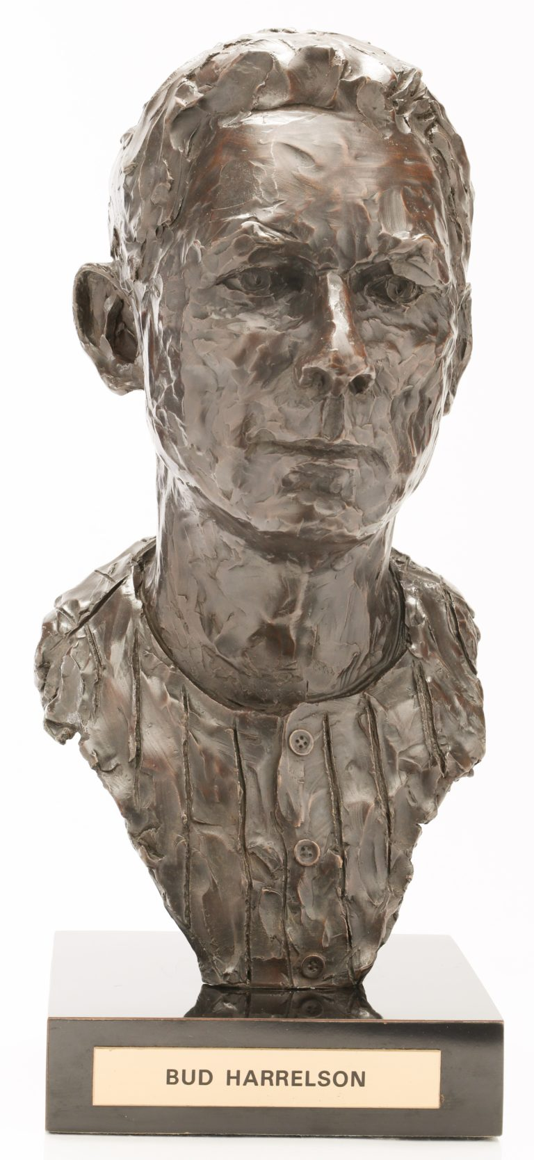 Bud Harrelson Bronze Bust Statue