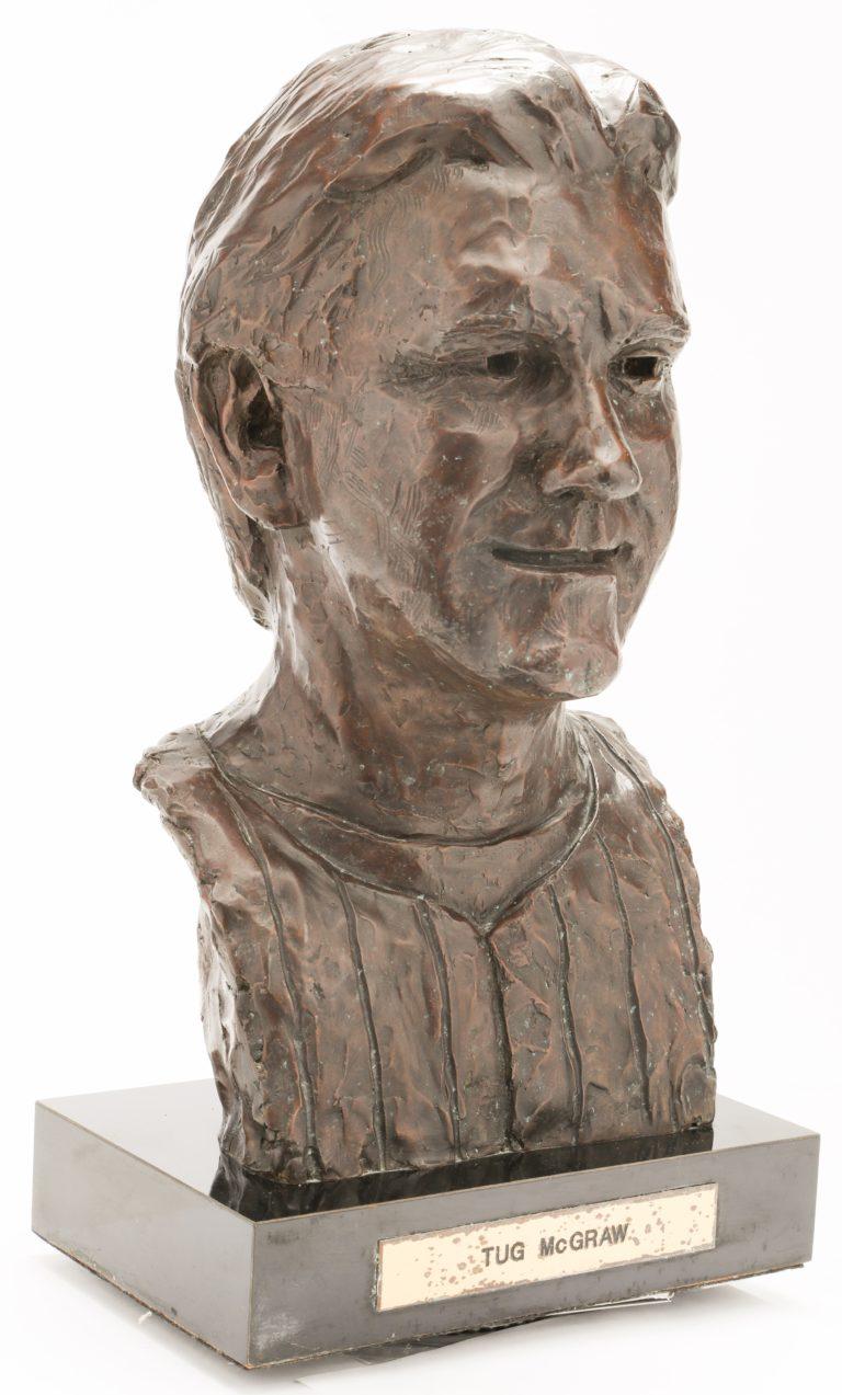 Tug McGraw Mets Hall of Fame Bust