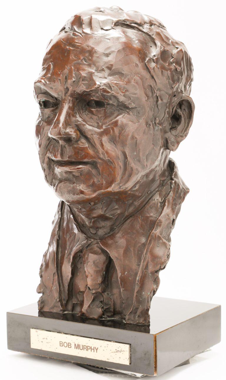 Bob Murphy Bronze Bust Statue