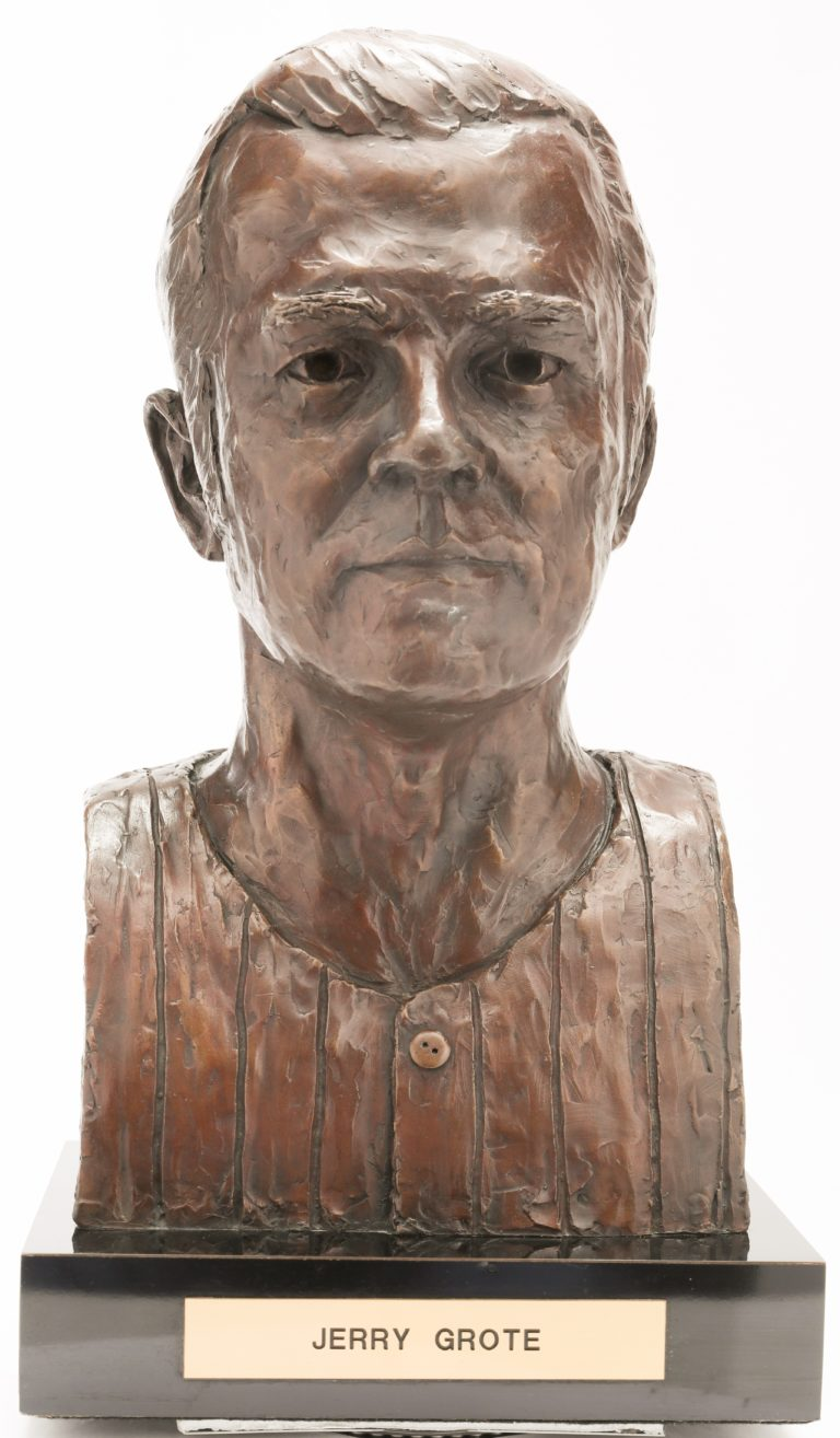 Jerry Grote Mets Hall of Fame Bust