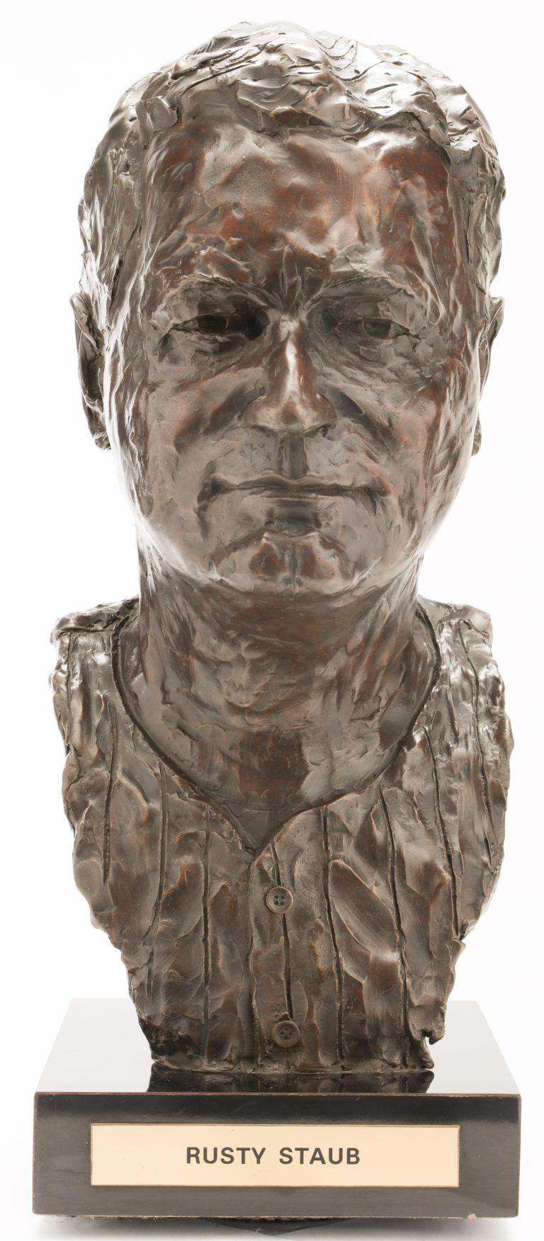 Rusty Staub Mets Hall of Fame Bust