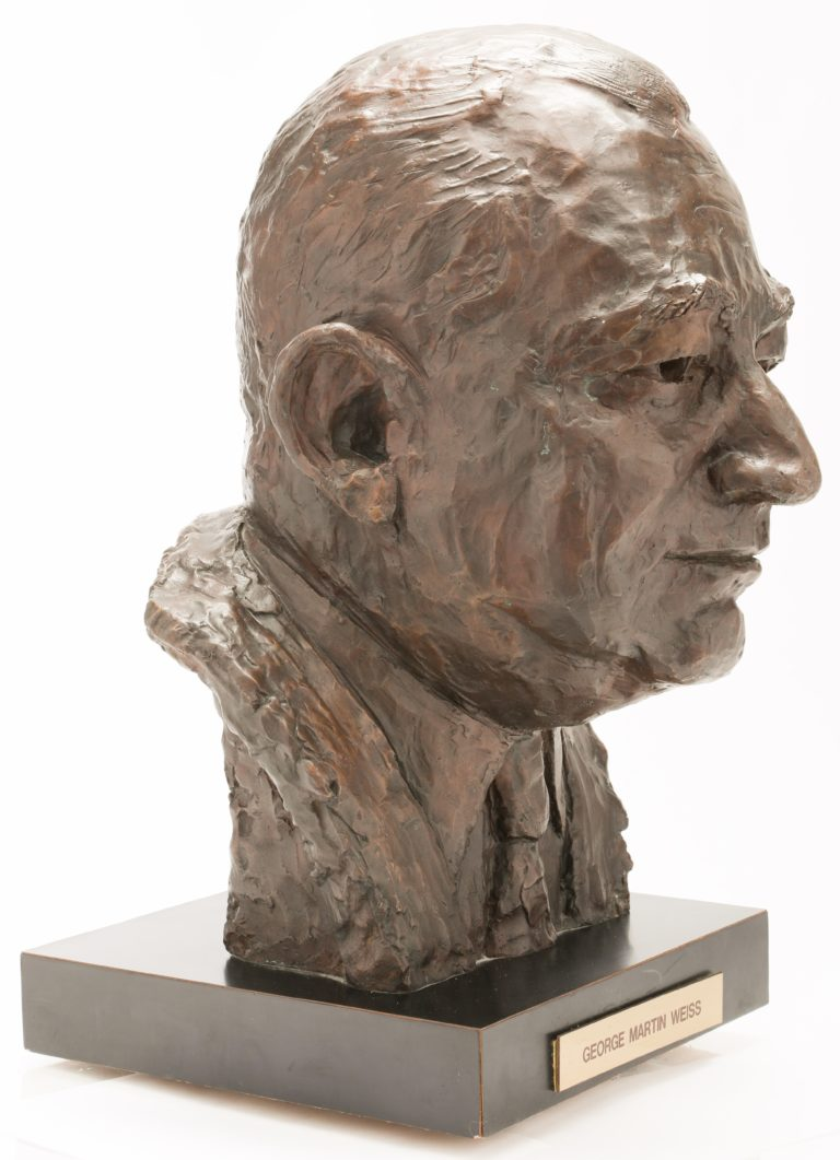 George Weiss Mets Hall of Fame Bust