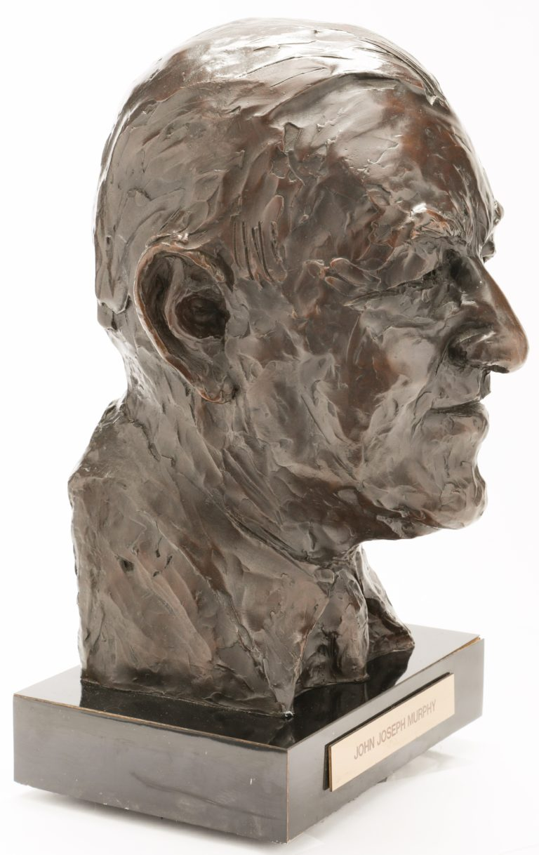 Johnny Murphy Mets Hall of Fame Bust