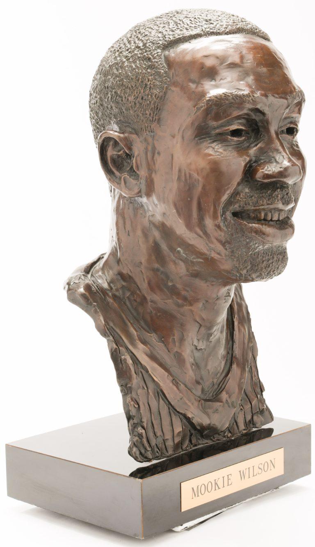 Mookie Wilson Mets Hall of Fame Bust