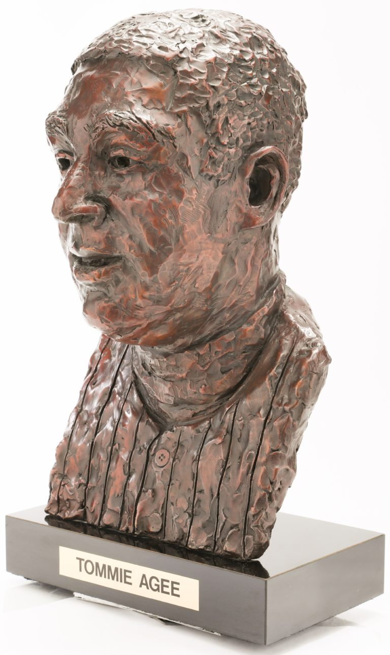 Tommie Agee Mets Hall of Fame Bust