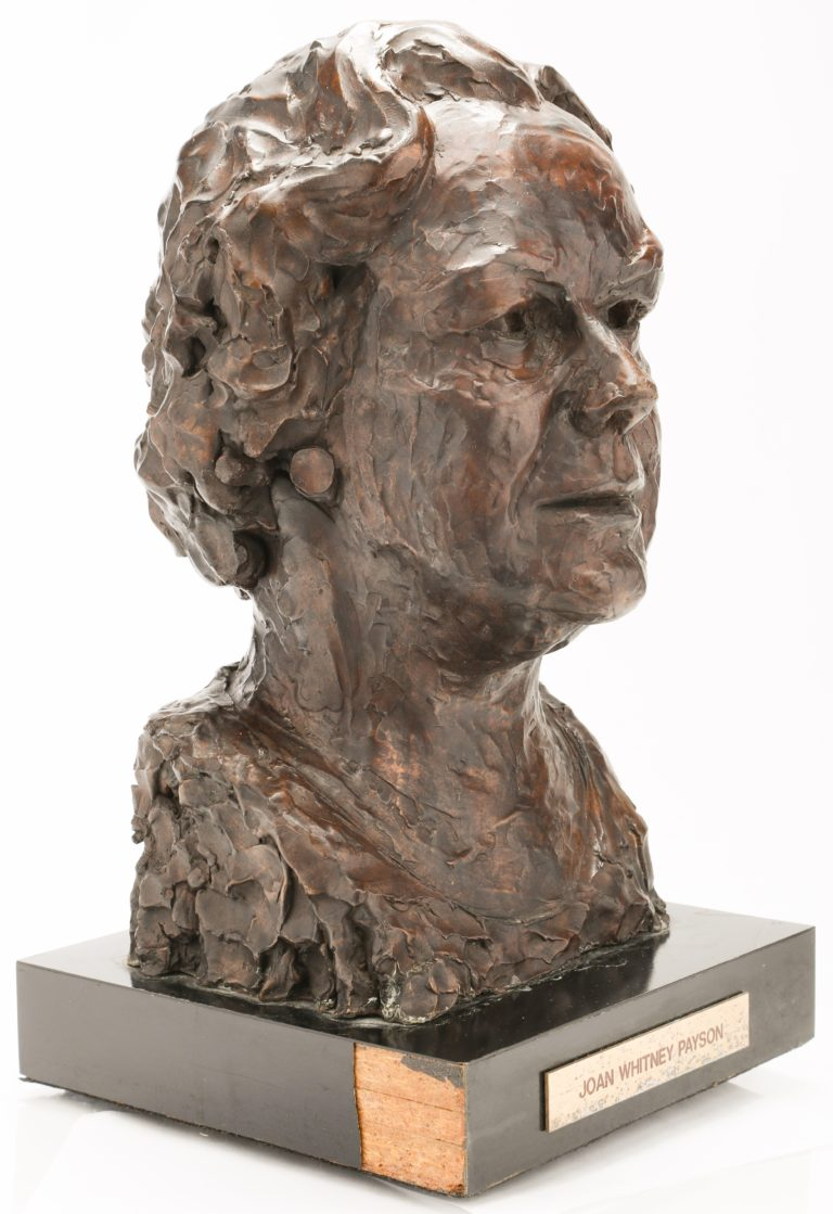 Joan Whitney Payson Mets Hall of Fame Bust