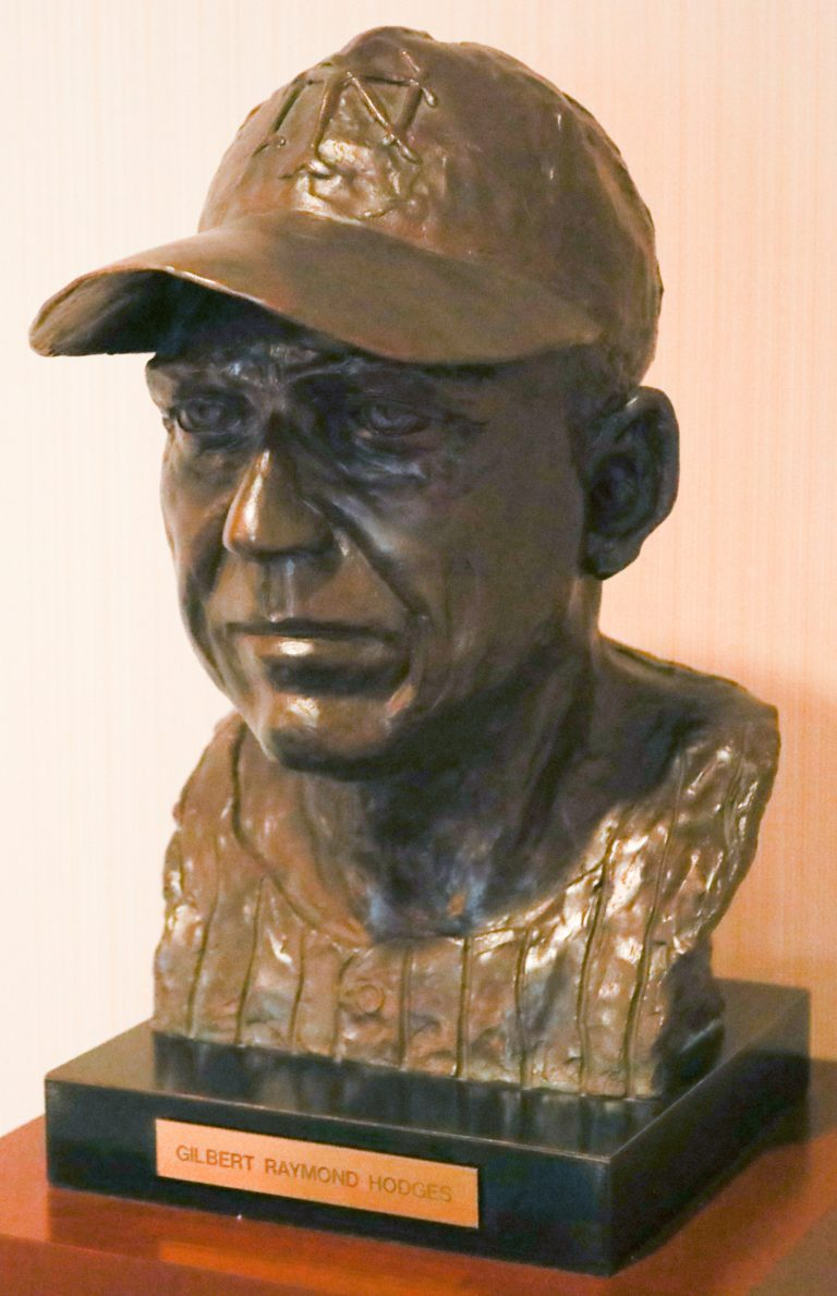Gil Hodges Mets Hall of Fame Bust