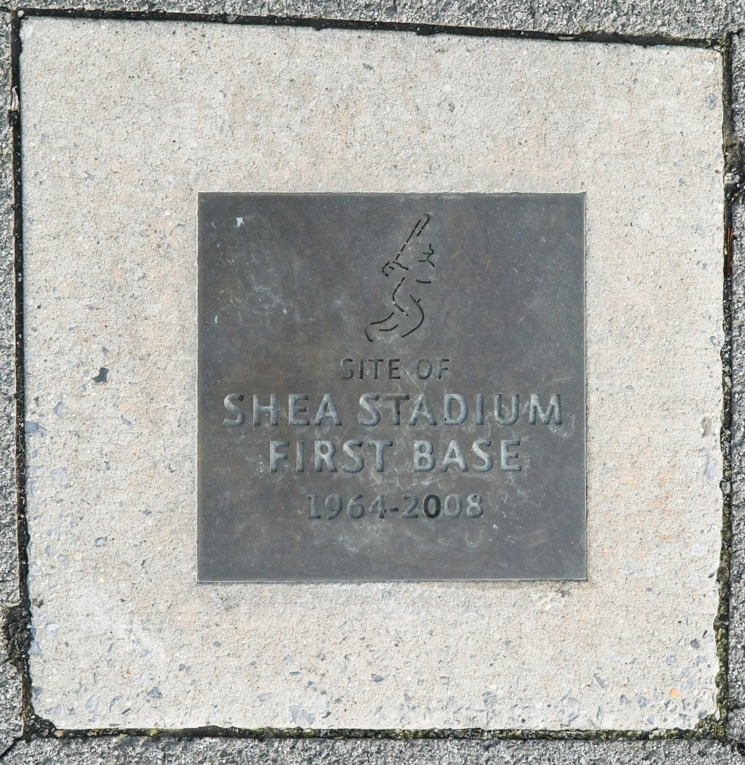 Site of Shea Stadium First Base