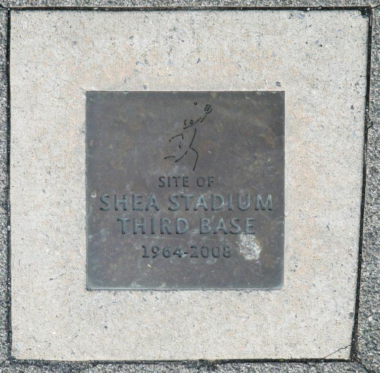 Site of Shea Stadium Third Base
