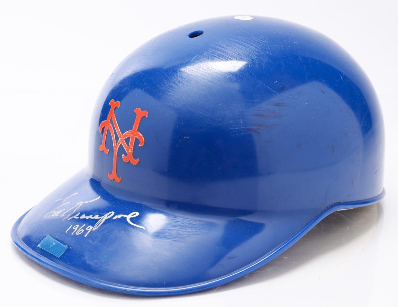 Ed Kranepool Autographed World Series Batting Helmet