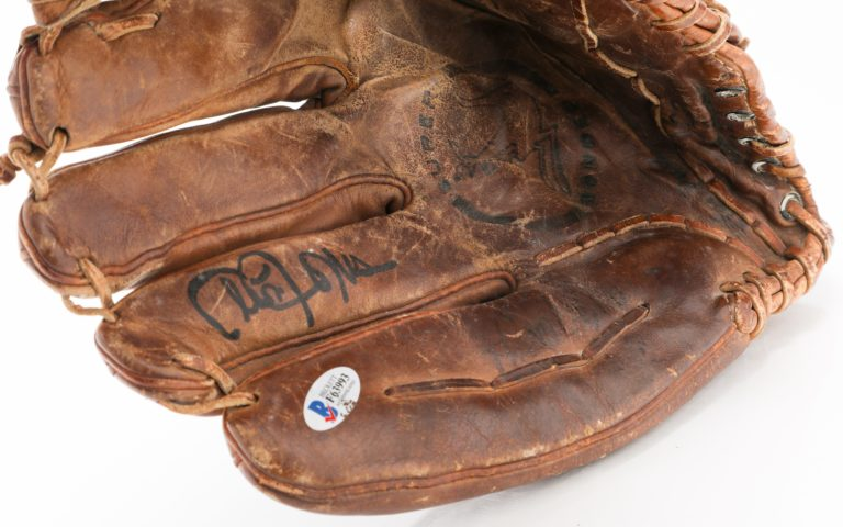 Cleon Jones Autographed and Game-Used Glove