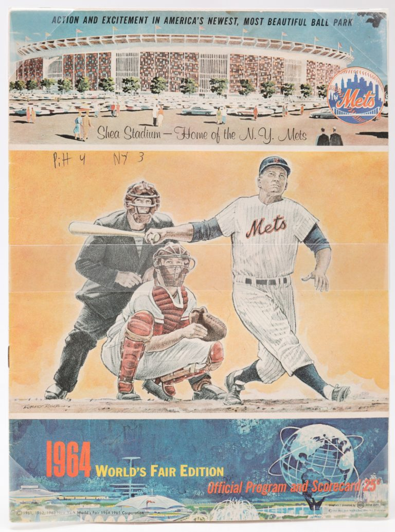 1964 Mets Program: Shea Stadium & World's Fair