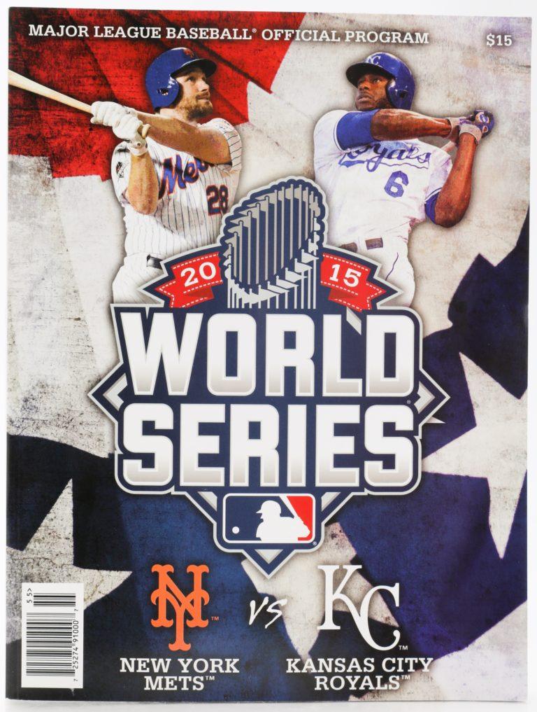 2015 World Series Program