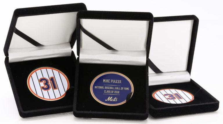Mike Piazza Hall of Fame Coin