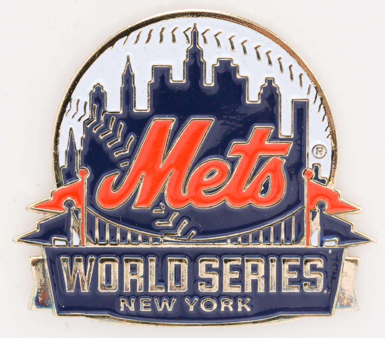 2015 Mets World Series Press Pin