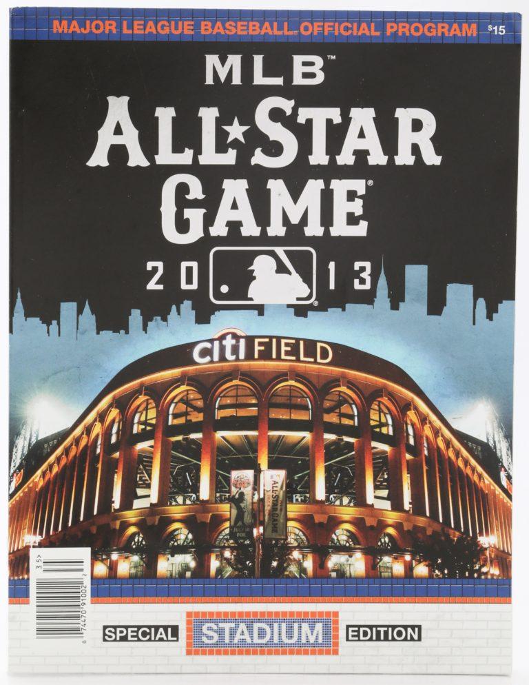 2013 All-Star Game Program