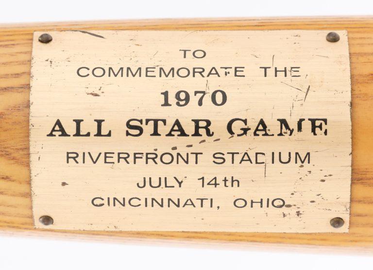 Bud Harrelson Commemorative All-Star Game Bat