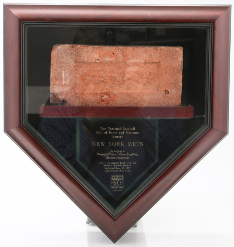 Brick from National Hall of Fame and Museum