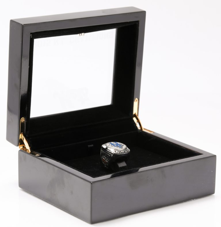 New York Mets 2015 NLCS Championship Ring in Opened Display Case