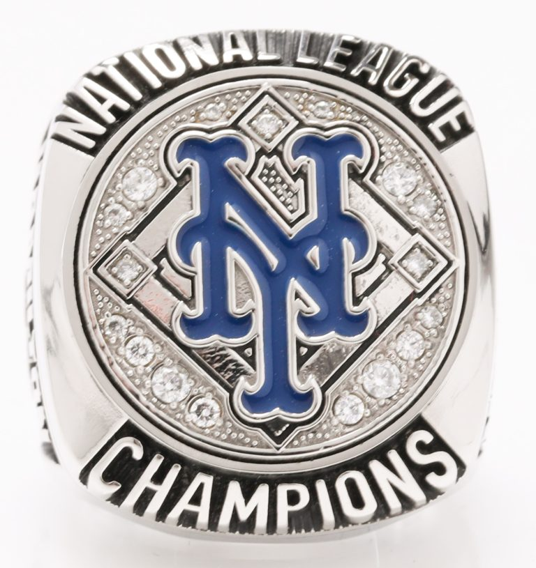 New York Mets 2015 NLCS Championship Ring - Top View