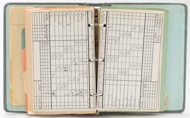 1969 Chicago Cubs-New York Mets Scorebook