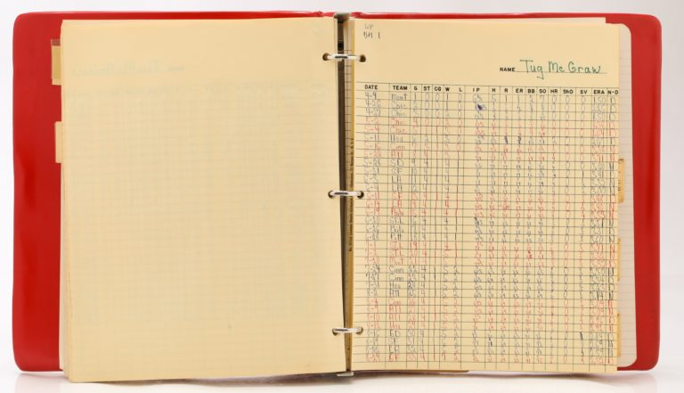 Tug McGraw's Stats Page from 1969