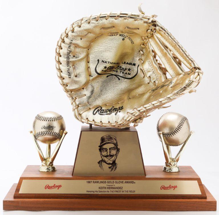 Keith Hernandez's 1987 Gold Glove