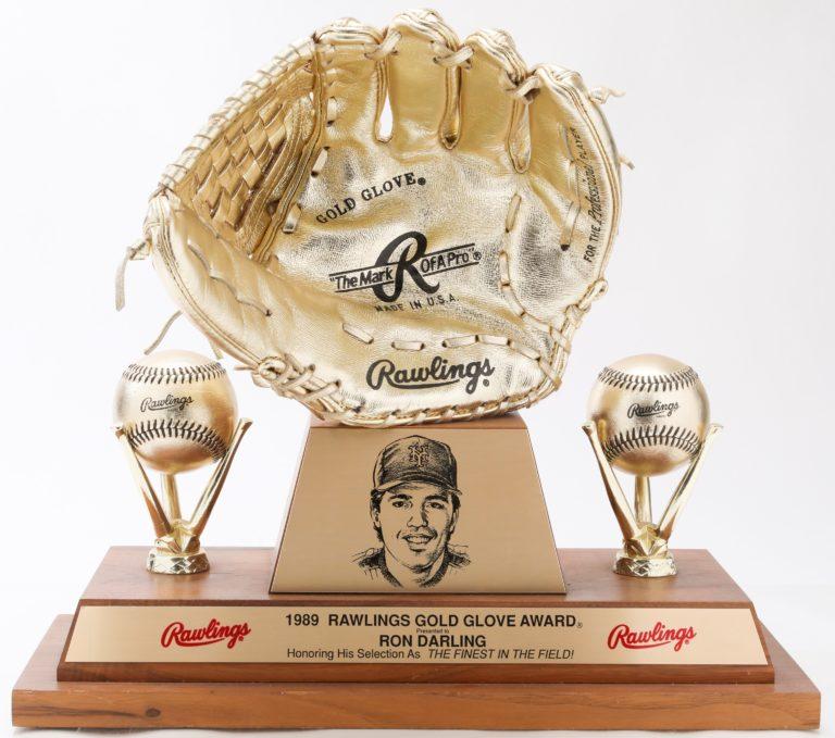 Ron Darling's 1989 Gold Glove Award