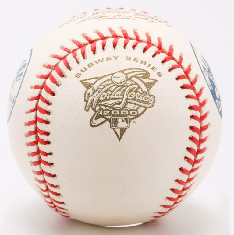 Official Ball from 2000 World Series