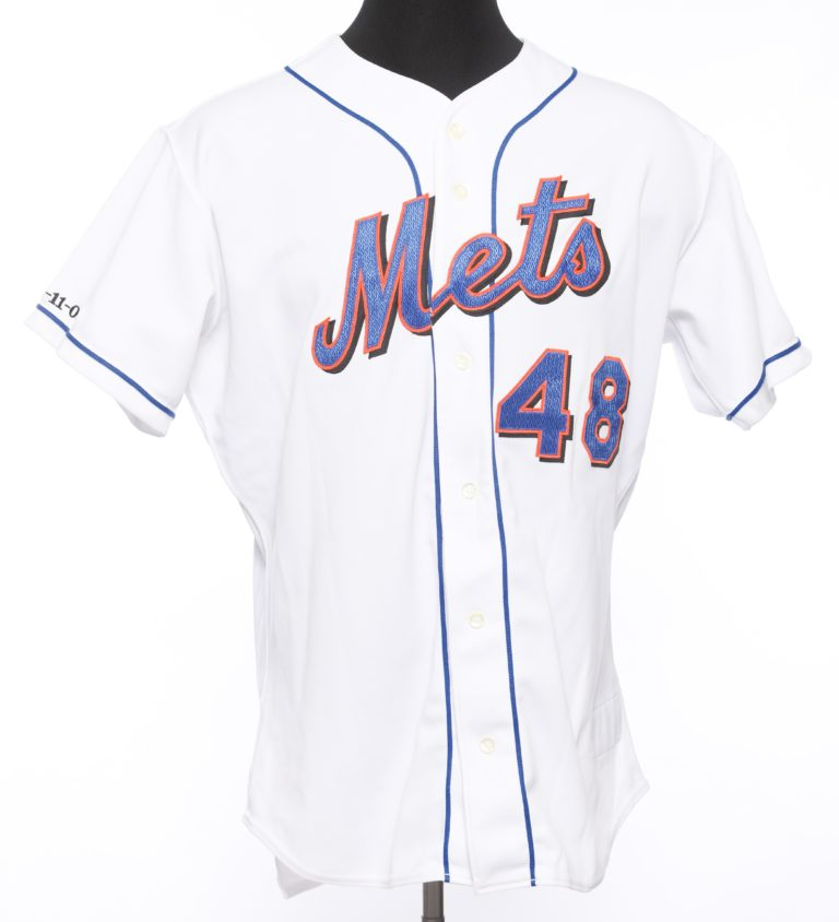 Glendon Rusch Autographed 9/11 Memorial Jersey - Front