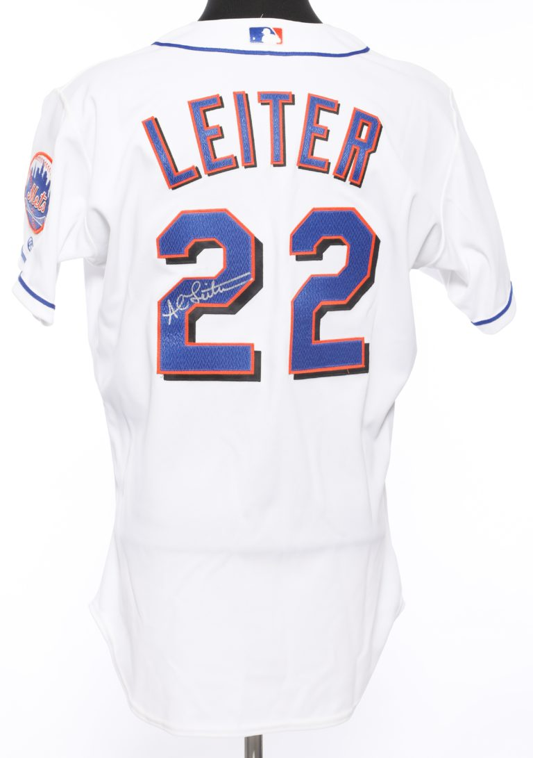 Al Leiter Autographed 9/11 Memorial  Jersey